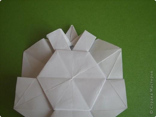 Мастер-класс Оригами Орхидея МК Бумага фото 32
