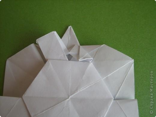 Мастер-класс Оригами Орхидея МК Бумага фото 33