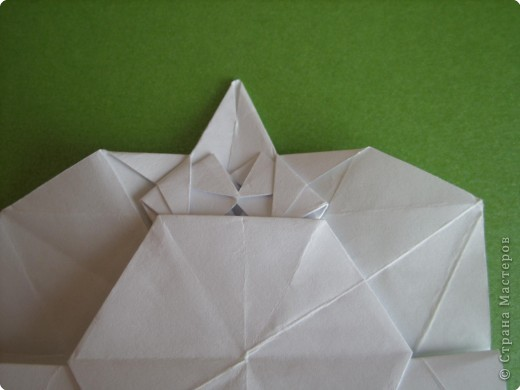 Мастер-класс Оригами Орхидея МК Бумага фото 34
