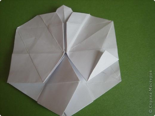 Мастер-класс Оригами Орхидея МК Бумага фото 38