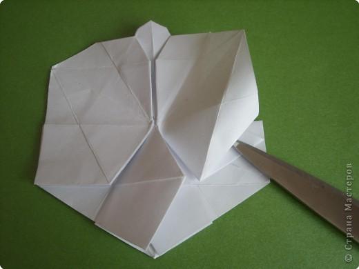 Мастер-класс Оригами Орхидея МК Бумага фото 39