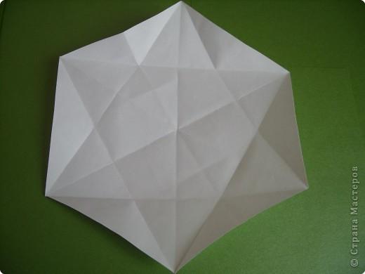 Мастер-класс Оригами Орхидея МК Бумага фото 4