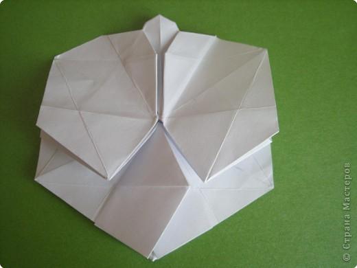 Мастер-класс Оригами Орхидея МК Бумага фото 40