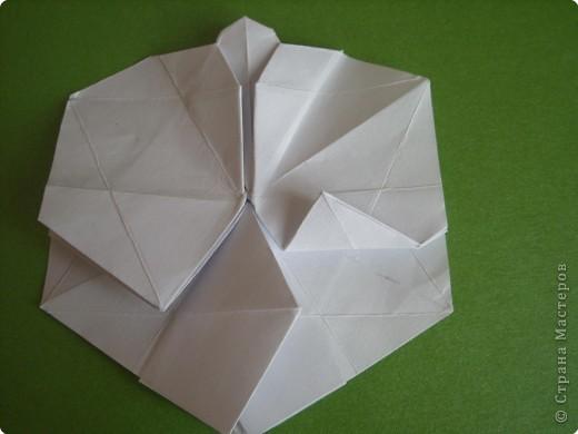 Мастер-класс Оригами Орхидея МК Бумага фото 41