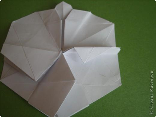 Мастер-класс Оригами Орхидея МК Бумага фото 42