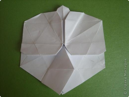 Мастер-класс Оригами Орхидея МК Бумага фото 43
