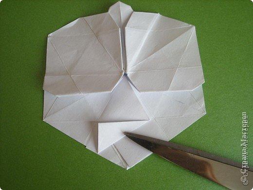Мастер-класс Оригами Орхидея МК Бумага фото 44