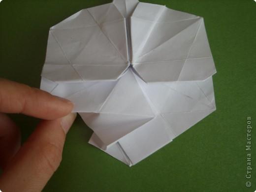Мастер-класс Оригами Орхидея МК Бумага фото 45