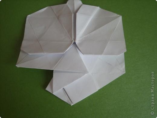 Мастер-класс Оригами Орхидея МК Бумага фото 46
