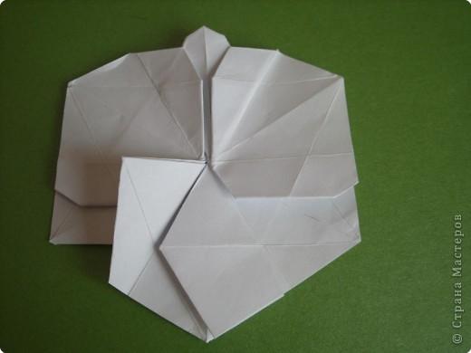 Мастер-класс Оригами Орхидея МК Бумага фото 47