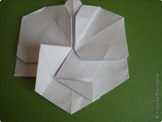 Мастер-класс Оригами Орхидея МК Бумага фото 48