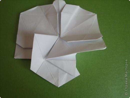 Мастер-класс Оригами Орхидея МК Бумага фото 49