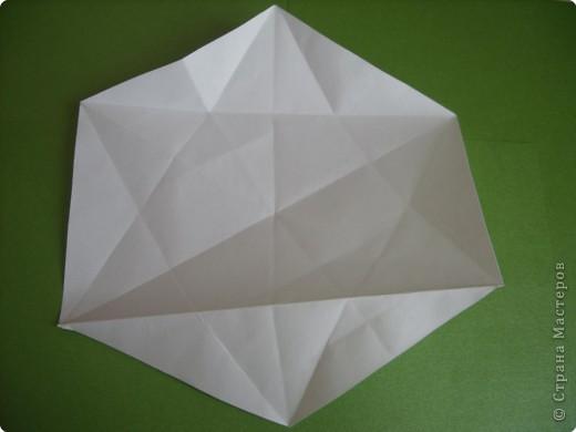 Мастер-класс Оригами Орхидея МК Бумага фото 5