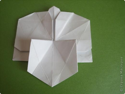 Мастер-класс Оригами Орхидея МК Бумага фото 50