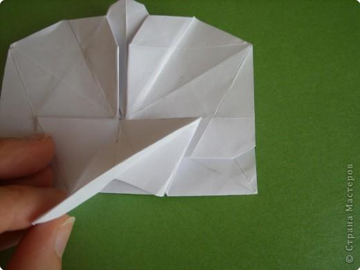 Мастер-класс Оригами Орхидея МК Бумага фото 51