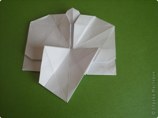 Мастер-класс Оригами Орхидея МК Бумага фото 52