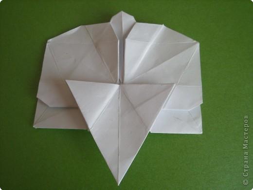 Мастер-класс Оригами Орхидея МК Бумага фото 53