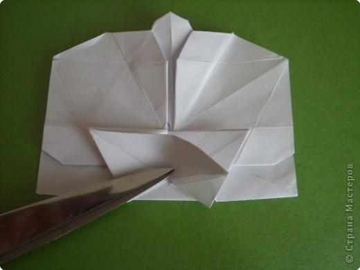Мастер-класс Оригами Орхидея МК Бумага фото 54