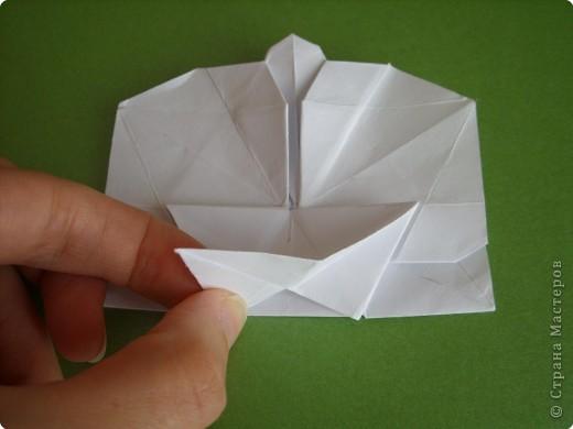 Мастер-класс Оригами Орхидея МК Бумага фото 55