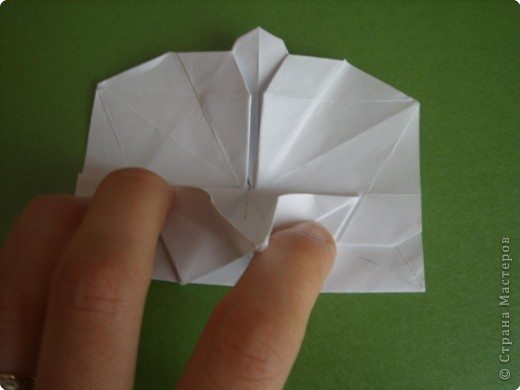 Мастер-класс Оригами Орхидея МК Бумага фото 56