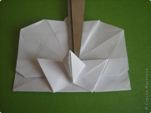 Мастер-класс Оригами Орхидея МК Бумага фото 58