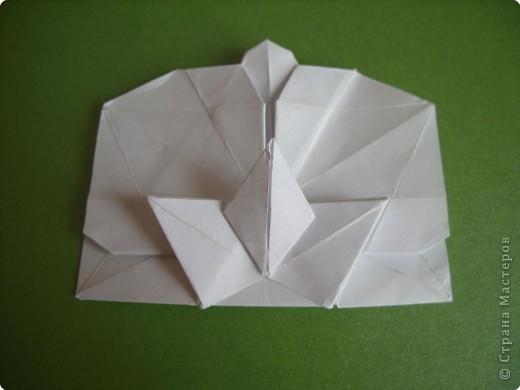 Мастер-класс Оригами Орхидея МК Бумага фото 59