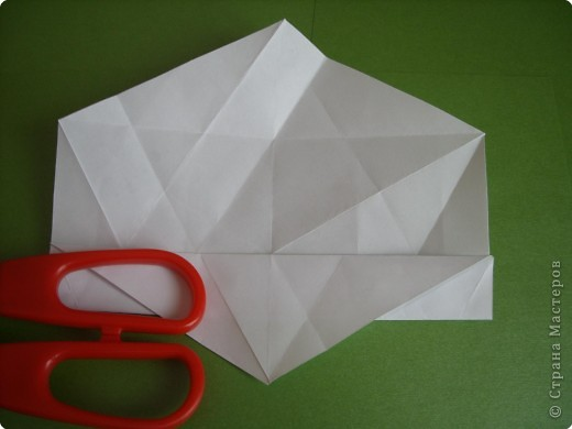 Мастер-класс Оригами Орхидея МК Бумага фото 6