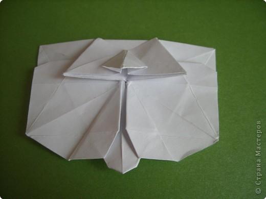 Мастер-класс Оригами Орхидея МК Бумага фото 60