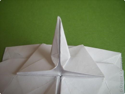 Мастер-класс Оригами Орхидея МК Бумага фото 62