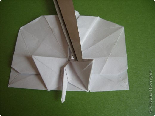 Мастер-класс Оригами Орхидея МК Бумага фото 65