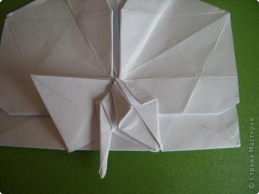 Мастер-класс Оригами Орхидея МК Бумага фото 67