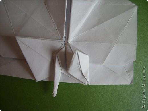 Мастер-класс Оригами Орхидея МК Бумага фото 68
