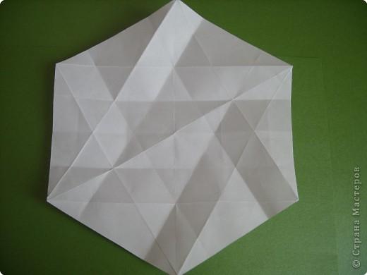 Мастер-класс Оригами Орхидея МК Бумага фото 7