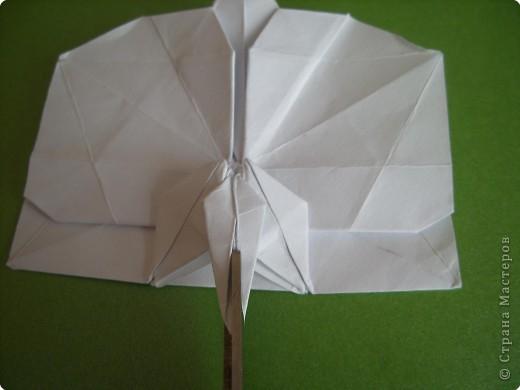 Мастер-класс Оригами Орхидея МК Бумага фото 71