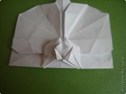 Мастер-класс Оригами Орхидея МК Бумага фото 72