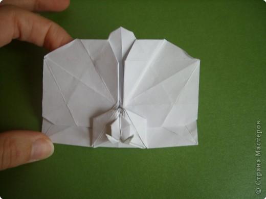 Мастер-класс Оригами Орхидея МК Бумага фото 73