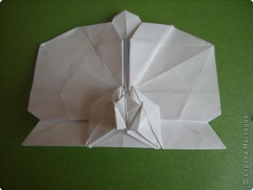 Мастер-класс Оригами Орхидея МК Бумага фото 75