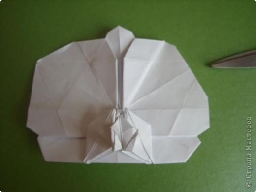 Мастер-класс Оригами Орхидея МК Бумага фото 77
