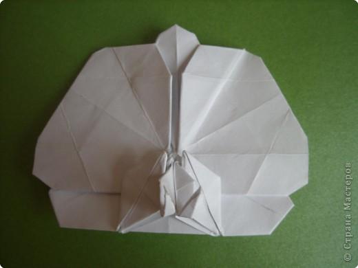 Мастер-класс Оригами Орхидея МК Бумага фото 78