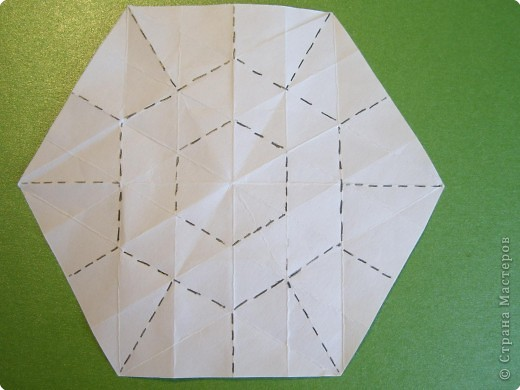 Мастер-класс Оригами Орхидея МК Бумага фото 9