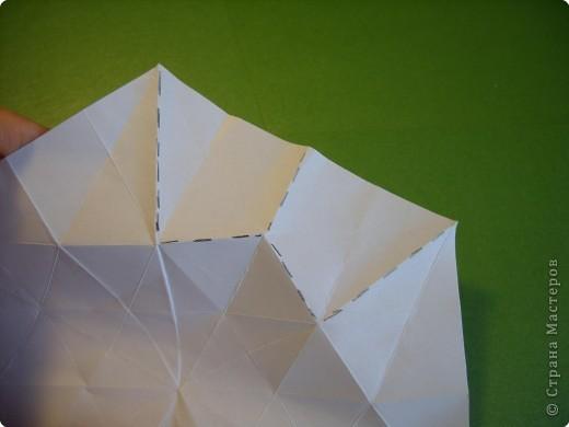 Мастер-класс Оригами Орхидея МК Бумага фото 10