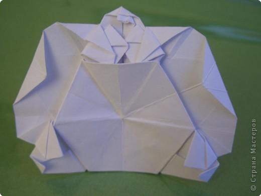 Мастер-класс Оригами Орхидея МК Бумага фото 84