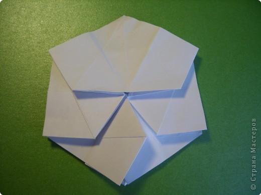 Мастер-класс Оригами Орхидея МК Бумага фото 13