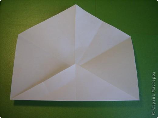 Мастер-класс Оригами Орхидея МК Бумага фото 3