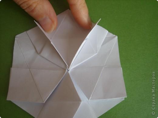 Мастер-класс Оригами Орхидея МК Бумага фото 20