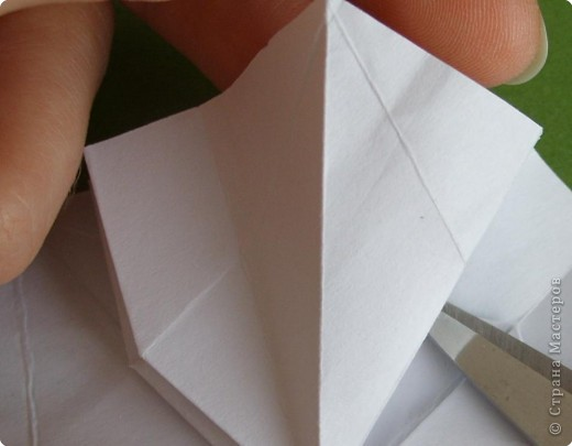 Мастер-класс Оригами Орхидея МК Бумага фото 22