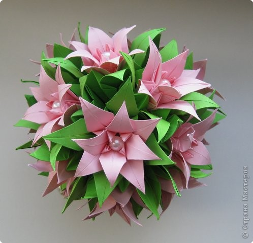 Поделки из оригами на день рождение