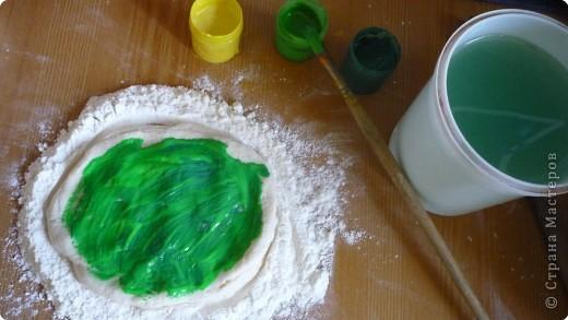 Мастер-класс Лепка Подсолнухи Тесто соленое фото 3