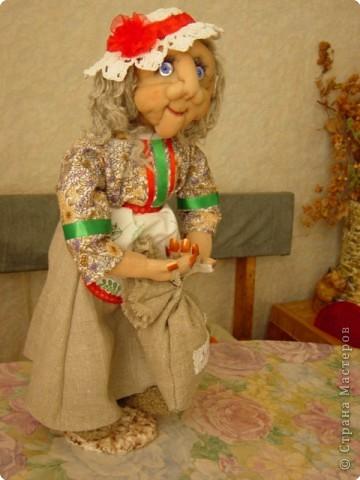 Выношу на Ваш суд свою новую куклу Сделана она по МК Ликмы -Старая учительница фото 2