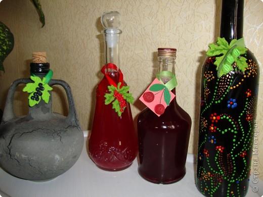 """Чтобы не перепутать где какой напиток налит, пришлось сделать вот такие бирочки в технике """"квиллинг"""" фото 6"""